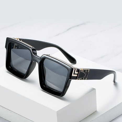 Fashion thick frame square sunglasses wholesale Nihaojewelry NHZIH401824's discount tags