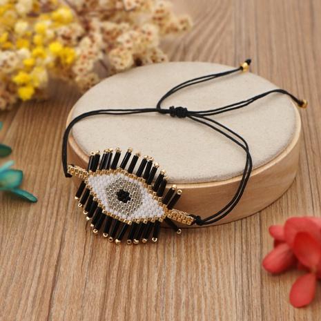 Nihaojewelry ethnic style lucky eye Miyuki beads hand-made bracelet Wholesale jewelry NHBDB378287's discount tags