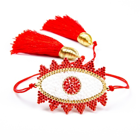 Nihaojewelry ethnic style eyes Miyuki bead bracelet Wholesale jewelry NHBDB378286's discount tags