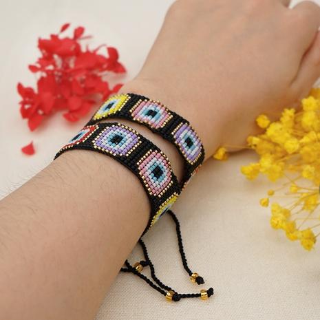 wholesale jewelry ethnic style miyuki bead hand-woven demon eye bracelet Nihaojewelry NHBDB378289's discount tags