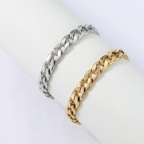 Bracelet à chaîne épaisse en acier inoxydable de style hiphop Nihaojewelry Bijoux en gros NHYUN378316's discount tags
