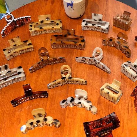 Vente en gros bijoux pince à imprimé léopard Nihaojewelry NHWB378813's discount tags