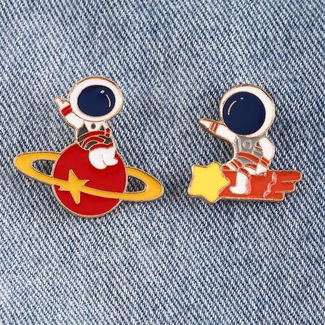 nihaojewelry broche d'insigne d'astronaute de dessin animé mignon bijoux en gros NHNZ378857's discount tags