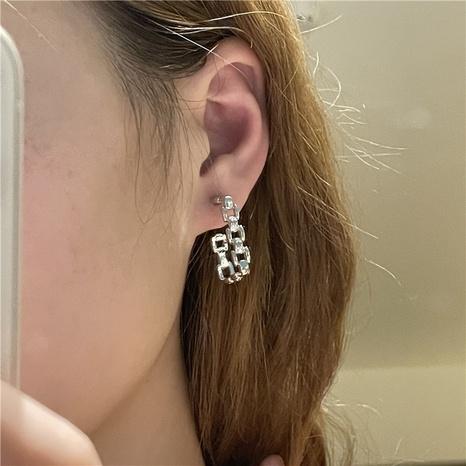Boucles d'oreilles à chaîne géométrique simple en gros de bijoux Nihaojewelry NHYQ378887's discount tags