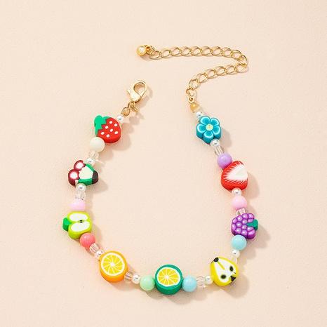 Nihaojewelry cute fruit resin bracelet Wholesale jewelry NHAI378964's discount tags