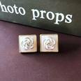 NHOM1751853-Square-White-Rose-Silver-Needle-Stud-Earrings-1.