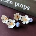 NHOM1751855-Two-flower-beads-silver-needle-earrings-52CM
