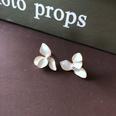 NHOM1751861-3-petals-silver-needle-stud-earrings-21.4CM
