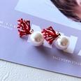 NHOM1751882-Red-Pearl-Silver-Needle-Stud-Earrings-3.51.8CM
