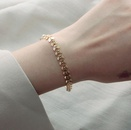 Wholesale Jewelry Titanium Steel Wheat Ear Pearl Bracelet Wholesale Jewelry NHAB379161