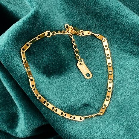 Joyería al por mayor de cadena simple pulsera de diseño corto Nihaojewelry NHAB379174's discount tags