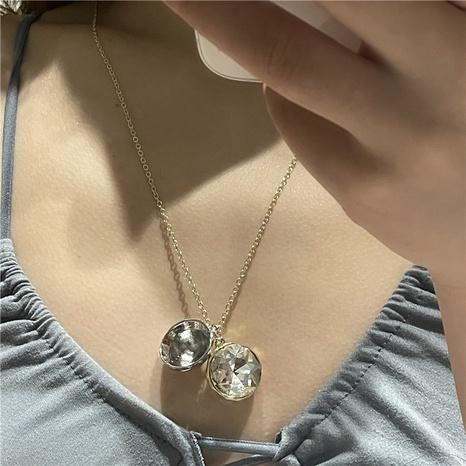 Nihaojewelry joyería al por mayor pulsera de pendientes de collar de circón geométrico NHYQ379270's discount tags