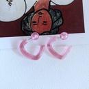 Nihaojewelry jewelry wholesale new enamel glaze contrast color earrings  NHOM379312