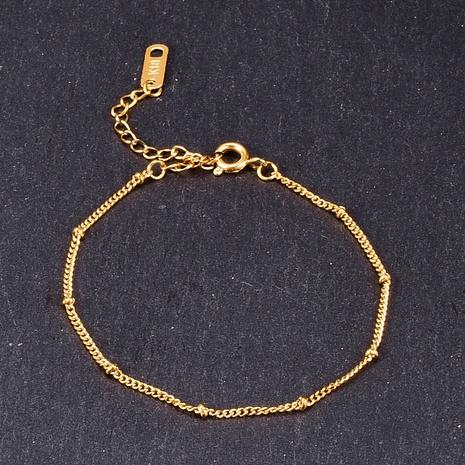 Joyería al por mayor de la pulsera de acero de titanio del grano simple de Nihaojewelry NHAB379327's discount tags