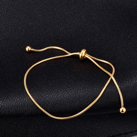 Nihaojewelry pulsera corta con cordón de acero de titanio simple joyería al por mayor NHAB379332's discount tags