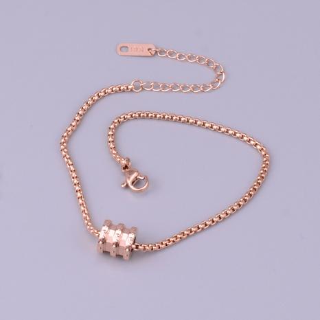 Nihaojewelry simple geometric 18K rose gold bracelet Wholesale Jewelry NHAB379494's discount tags