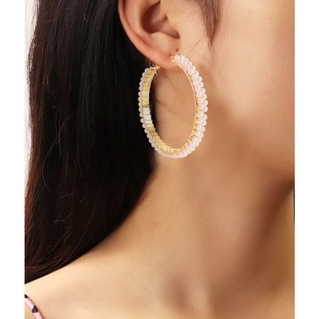 wholesale jewelry C-shape pearl earrings Nihaojewelry  NHCT379527's discount tags