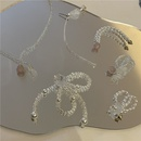 nihaojewelry fashion beaded handmade translucent long earrings wholesale jewelry NHYQ379667