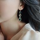 nihaojewelry retro water drop diamondstudded earrings wholesale jewelry NHQIY379903