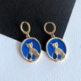 NHOM1754278-Kitten-drip-glaze-earrings-2.4CM
