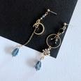 NHOM1754279-Asymmetric-silver-needle-earrings-7.5-8.8CM