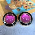 NHOM1754409-Light-purple-glass-ear-clip-3CM