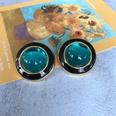 NHOM1754414-Lake-Water-Blue-Glass-Silver-Pin-Stud-Earrings-3