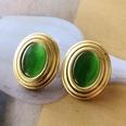 NHOM1754290-Green-Cat-Eye-Silver-Needle-Stud-Earrings-2.63.2