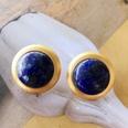 NHOM1754292-Lapis-lazuli-and-silver-pin-earrings-2.7CM