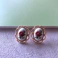 NHOM1754357-Embossed-Flower-Stud-Earrings-Flower-21.6CM