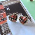 NHOM1754358-Black-and-red-drip-glaze-love-earrings-2CM