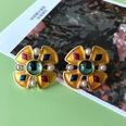 NHOM1754319-Cross-Silver-Needle-Stud-Earrings-32.7CM