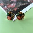 NHOM1754322-Small-Flower-Silver-Needle-Stud-Earrings-1.7CM