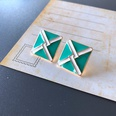 NHOM1754363-Square-color-matching-stud-earrings-1.8CM