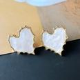 NHOM1754428-Lace-Love-Shell-Silver-Needle-Stud-Earrings-2.5C