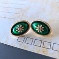NHOM1754370-Convex-silver-needle-stud-earrings-2.31.6CM