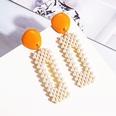 NHAYN1755379-Orange-Rectangular-Pearl-Earrings