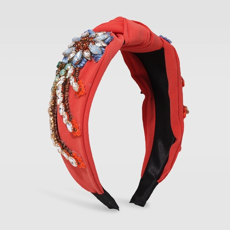 wholesale jewelry baroque diamond headband Nihaojewelry NHMD379251's discount tags