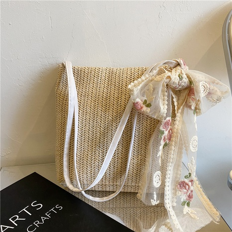 Nihaojewelry fashion Straw large-capacity single shoulder tote bag Wholesale  NHXC380321's discount tags