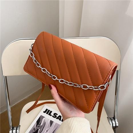 Nihaojewelry rétro texture chaîne messenger petit sac carré en gros NHXC380336's discount tags
