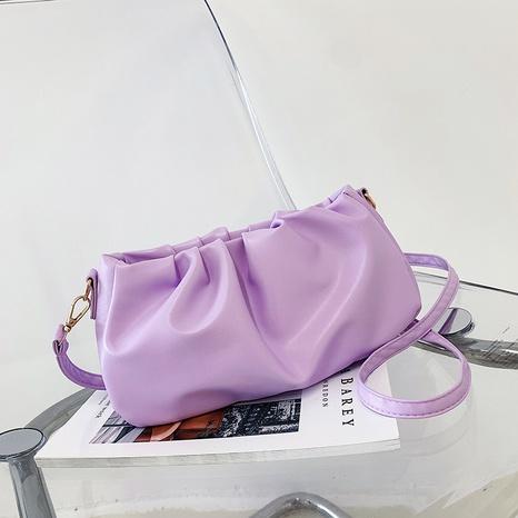 Nihaojewelry sac à aisselles à bandoulière unique à pliage de mode en gros NHXC380338's discount tags