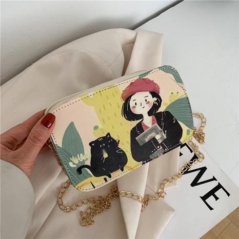 Nihaojewelry sac de messager à une épaule de couleur contrastante à pulvérisation de mode en gros NHXC380345's discount tags