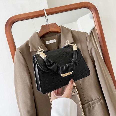 Nihaojewelry vente en gros nouveau sac de messager en chaîne en relief à la mode NHXC380348's discount tags