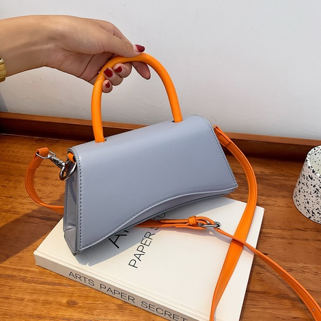 Nihaojewelry wholesale hit color one-shoulder small square bag  NHZW380449's discount tags