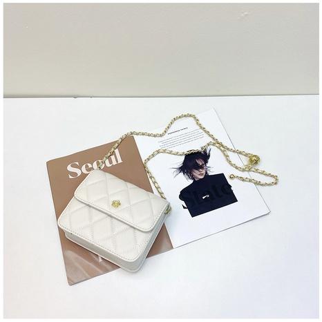 vente en gros accessoires sac de messager chaîne losange couleur unie Nihaojewelry NHASB380509's discount tags