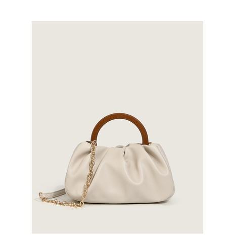 vente en gros accessoires poignée en bois pli nuage sac messager Nihaojewelry NHASB380512's discount tags