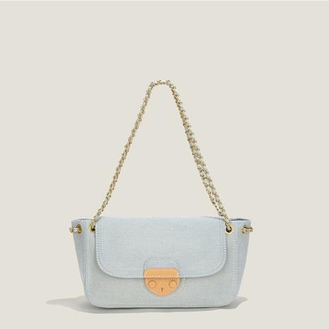vente en gros accessoires grande capacité chaîne en toile sac sous les bras Nihaojewelry NHASB380513's discount tags