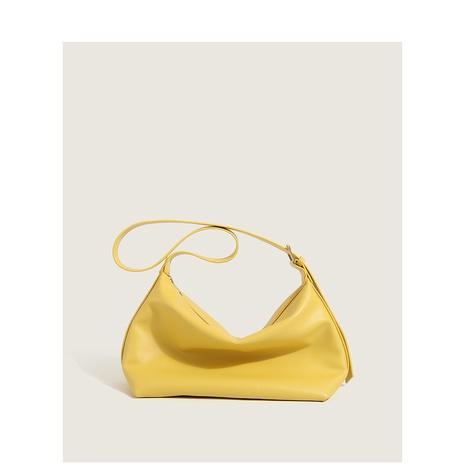 wholesale sac fourre-tout en cuir PU souple de grande capacité de couleur unie Nihaojewelry NHASB380518's discount tags