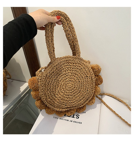 Nihaojewelry fashion straw woven portable bag Wholesale  NHWH380542's discount tags