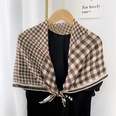 NHMN1758488-23-cotton-size-woven-grid-brown-90cm